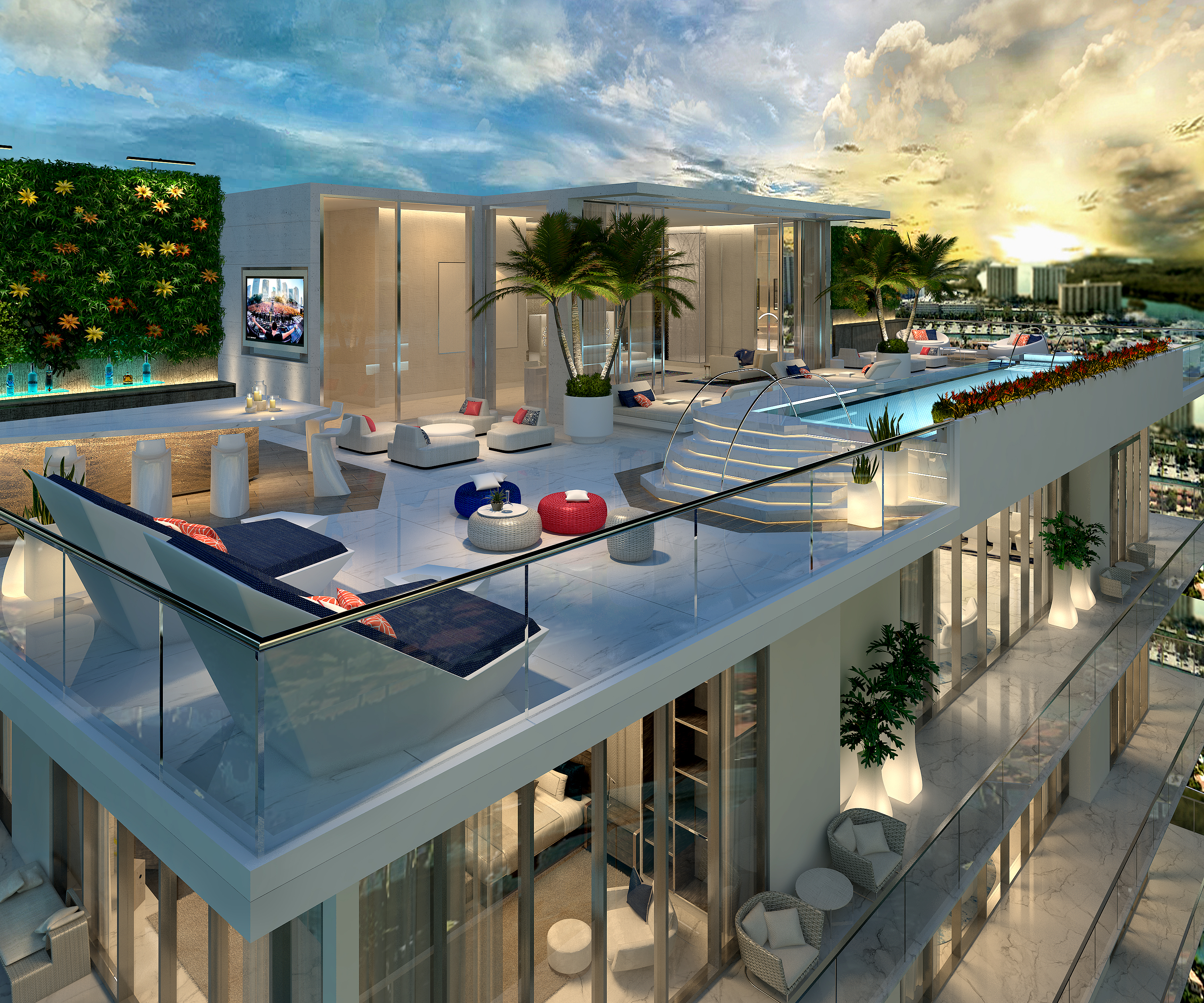 Tower Suite Rooftop Terrace with Private Pool